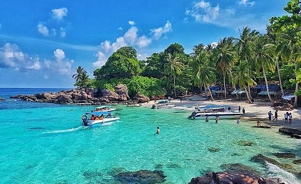 A view of Phu Quoc island (Photo: hanoimoi.com.vn)