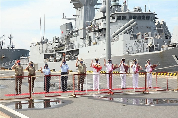 Australian Warships Visit Vietnam as Part of Indo-Pacific Endeavour 2021