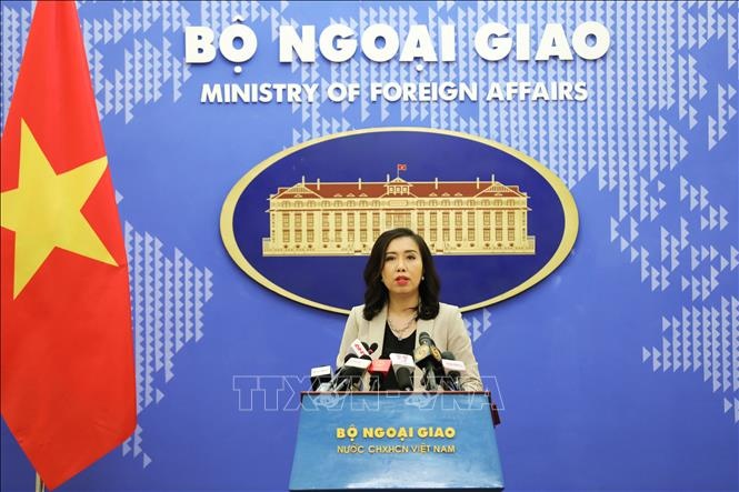 spokesperson vietnam welcomes countries stance on south china sea bien dong sea in line with intl law