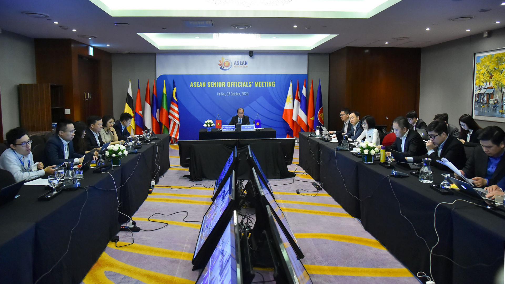 ASEAN pledges to coordinate with China to soon complete talks for Code of Conduct in South China Sea (Bien Dong Sea)