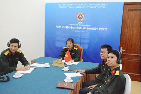 vietnam attends 75th general assembly of international military sports council