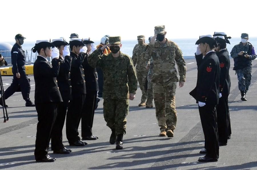 us lieutenant general lists malign activities on the part of beijing