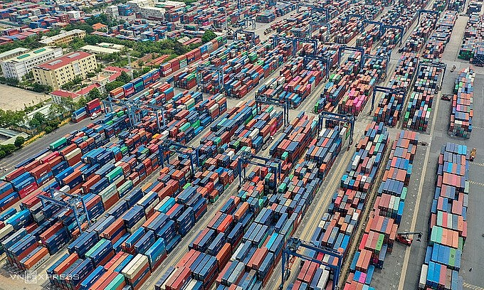 The Cat Lai Port in HCMC. Photo by VnExpress/Quynh Tran