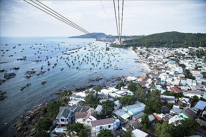 The full opening to international visitors could be in June 2022. (Photo: VNA)