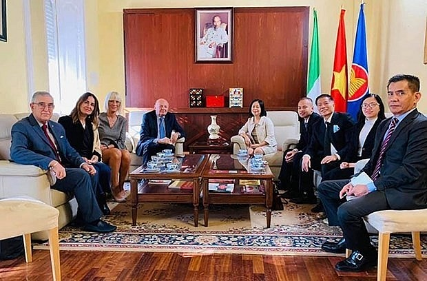 Italy wants to strengthen relations with Vietnam