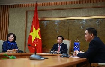 deputy pm vietnam treasures wbs valuable support