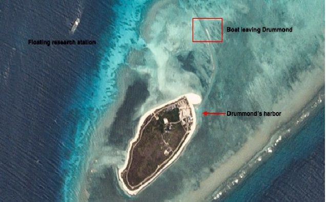 benarnews small islets show chinas alleged new construction in south china sea bien dong sea
