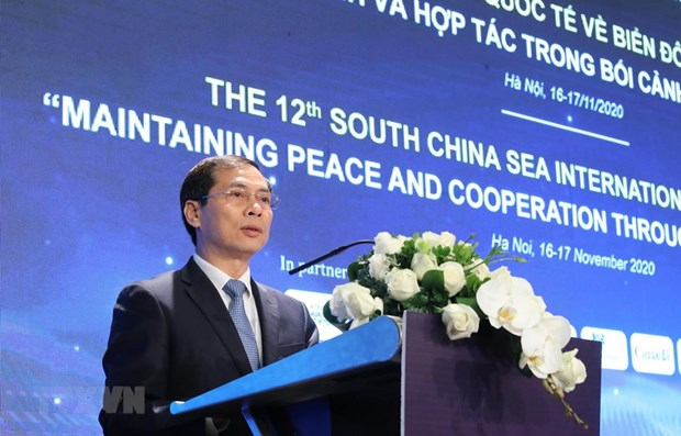 deputy fm bien dong sea south china sea is a test of international relations