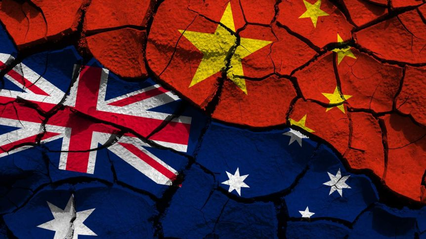 china blames australia for trade spat citing grievances from huawei to taiwan