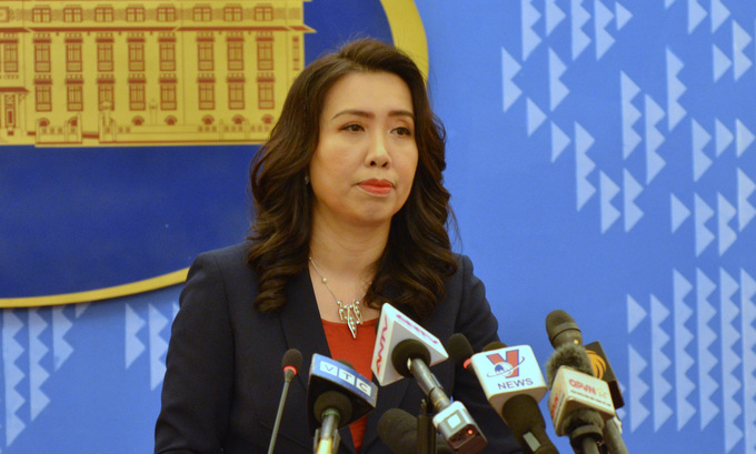 chinas exercises in western part of the leizhou peninsula unrelated to vietnams waters foreign ministry spokesperson