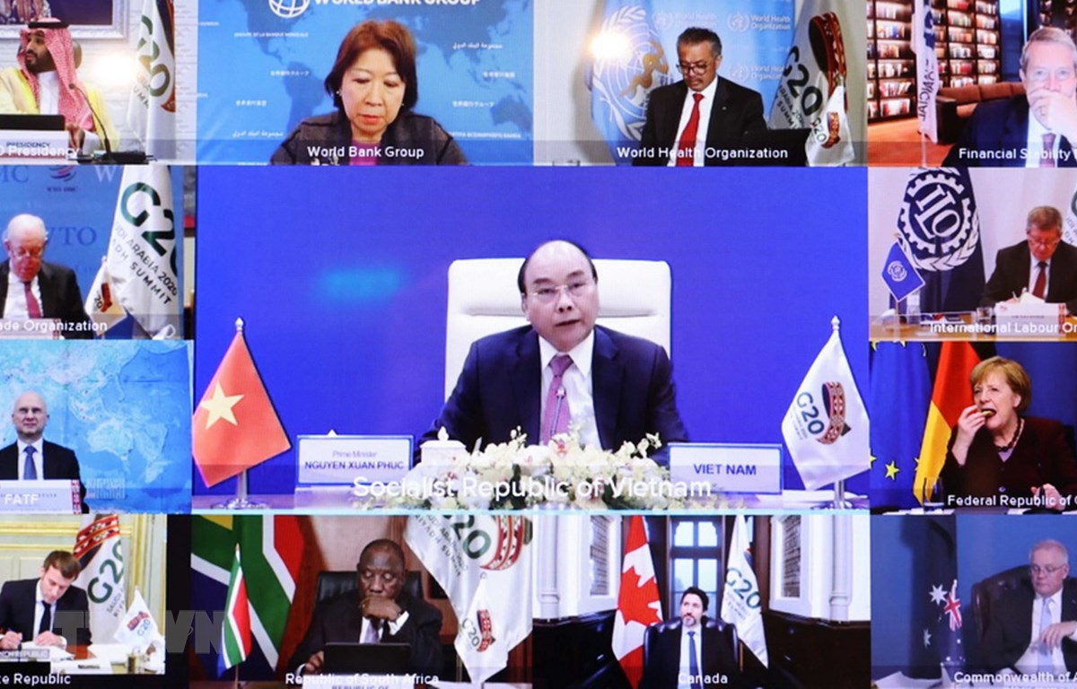 G20 Summit: PM Phuc calls for efforts in sustainable, inclusive development
