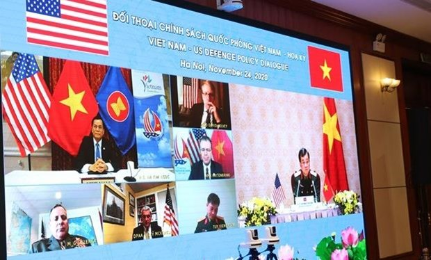 US affirms to forge defence ties with Vietnam