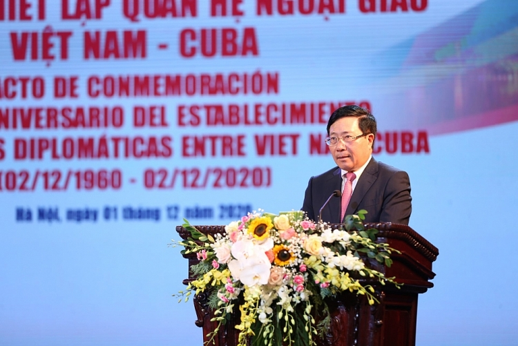deputy pm cuba an important trustworthy friend of vietnam