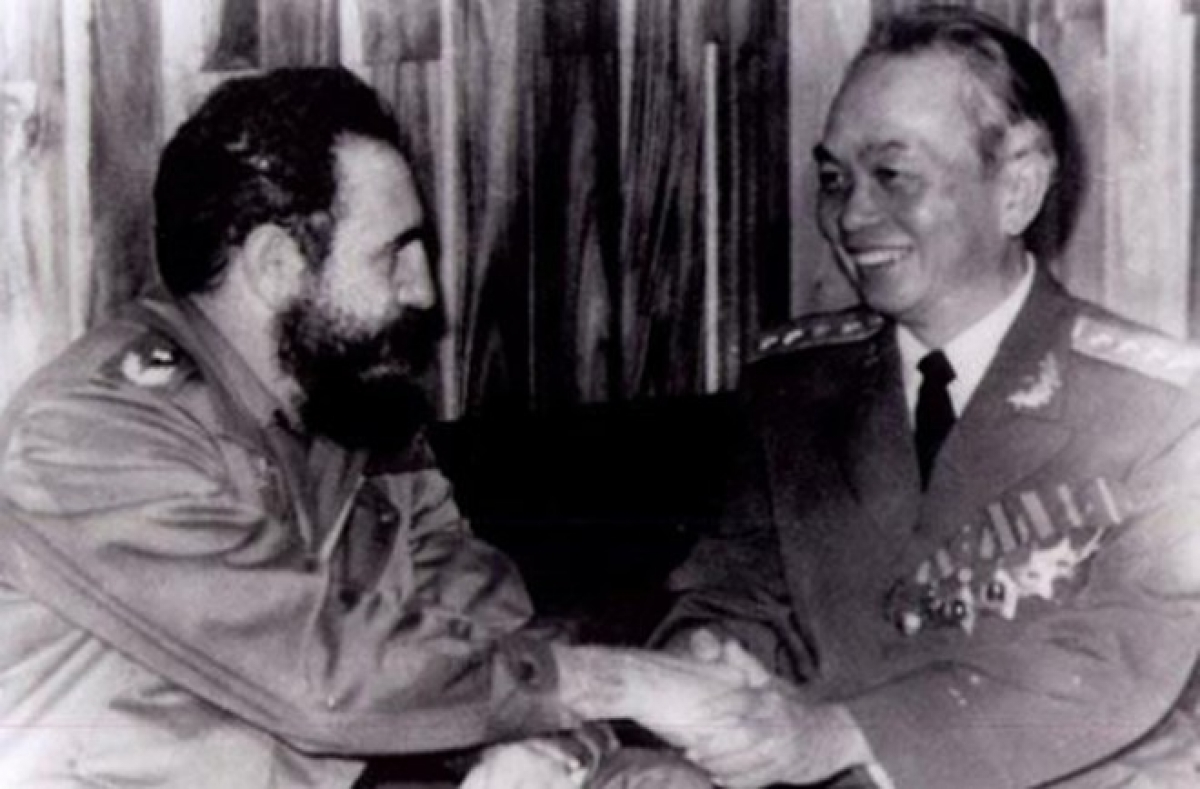 Fidel Castro's special sentiments towards Vietnam