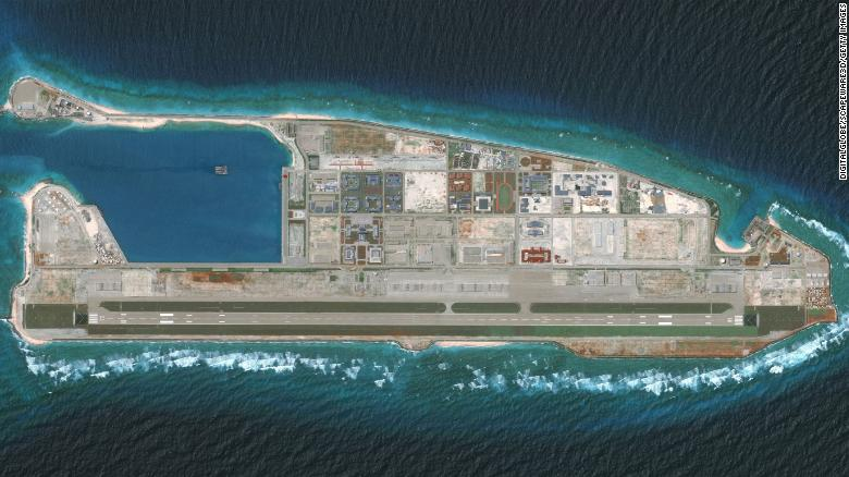 chinas military bases in south china sea bien dong sea vulnerable to be attacked report