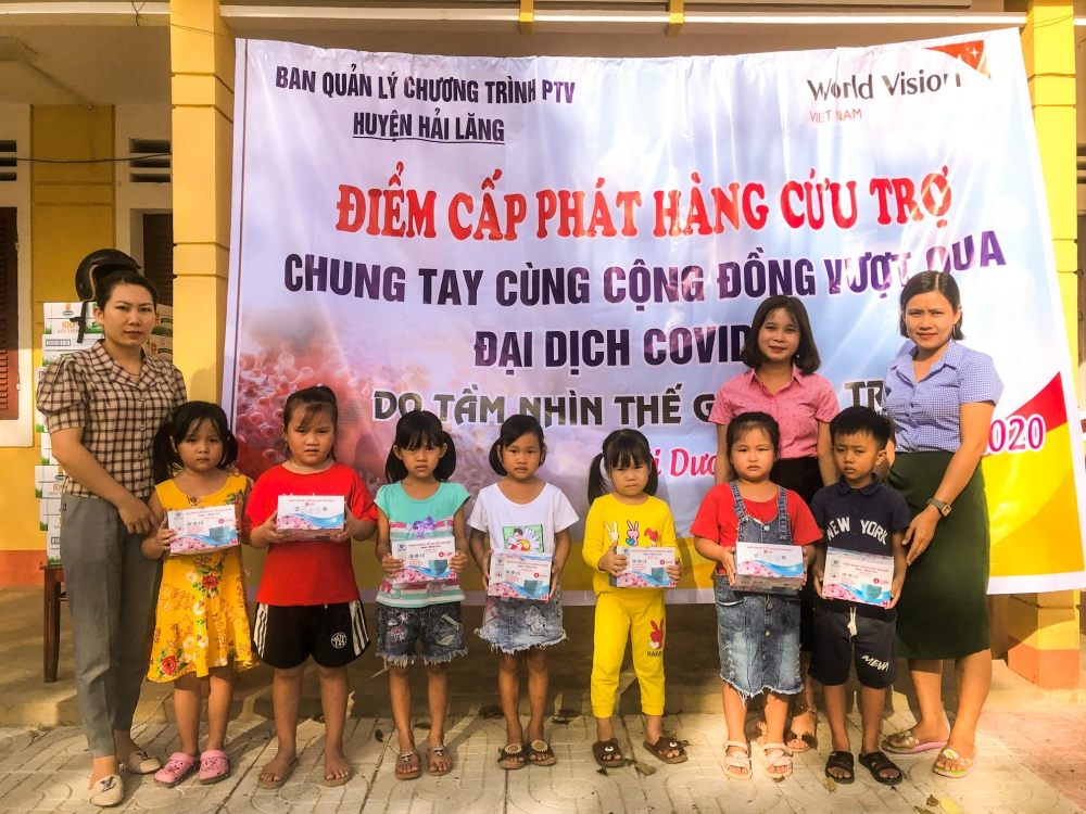 world vision vietnam provides more aid for vulnerable children in quang tri