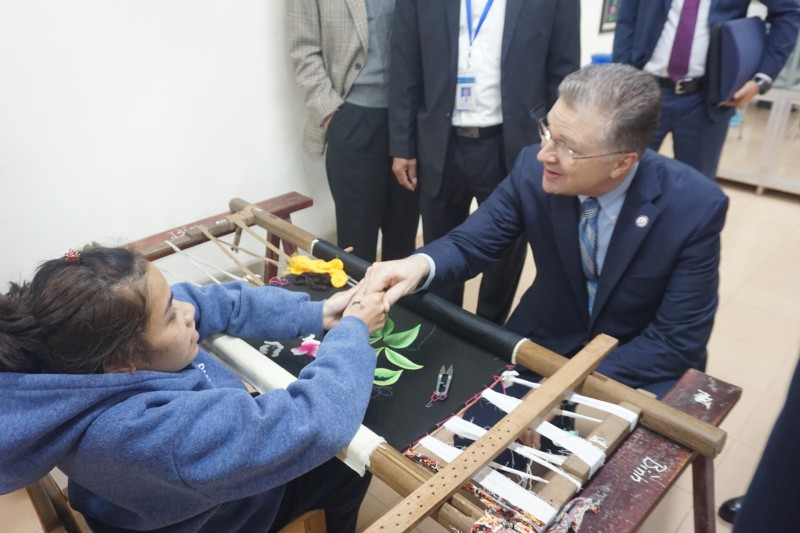 dental equipment handed over to the friendship village by us embassy