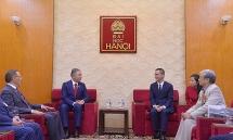 kazakhstans lower house chairman visits hanoi university