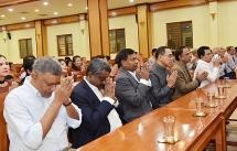 sri lankas leading venerable talks about value of buddhist teachings in modern life in hanoi