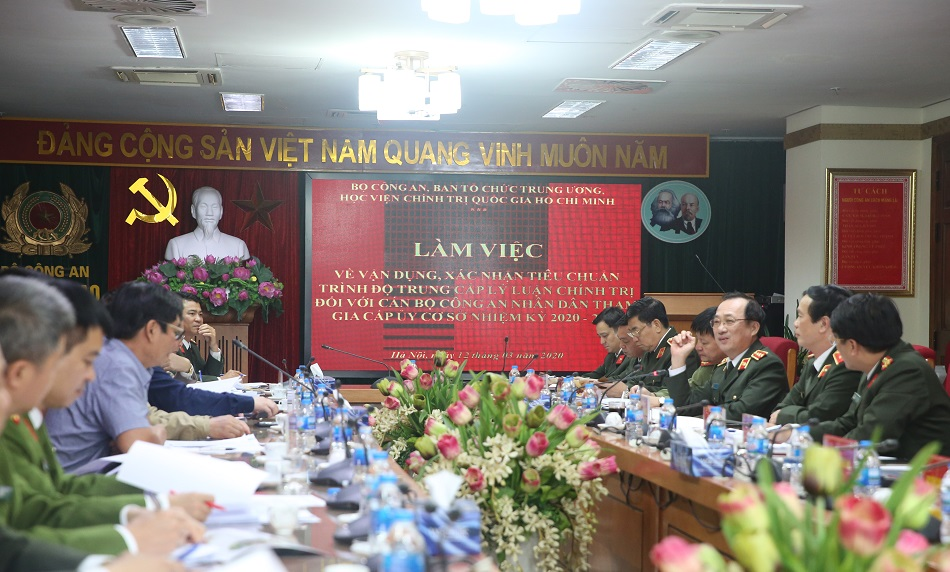 vietnamese ministry of public security political background of candidates for next term party committees