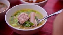 banh mi xiu mai a distinctive dish of da lat
