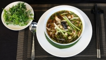 'Pho' cooked with medicinal plants: A surprisingly savory combination
