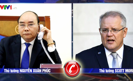 vietnamese pm discusses covid 19 measures with australian pm