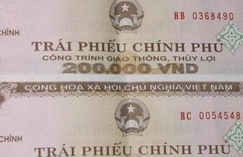 nearly 213 million raised from vietnam governmental bond auction
