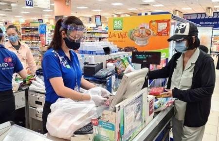 Supermarkets offer promotion after national social distancing ends