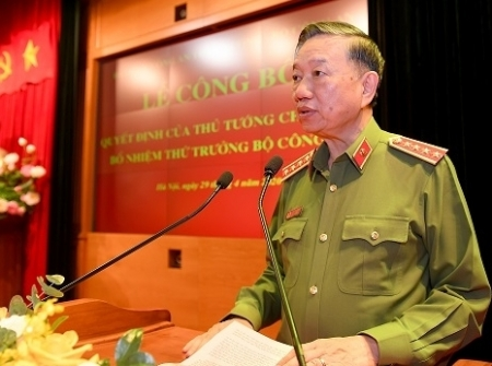 Vietnam Ministry of Public Security appoints two new Deputy Ministers