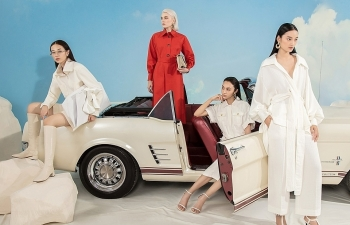 an exciting endless journey of women brought by designer cong tri