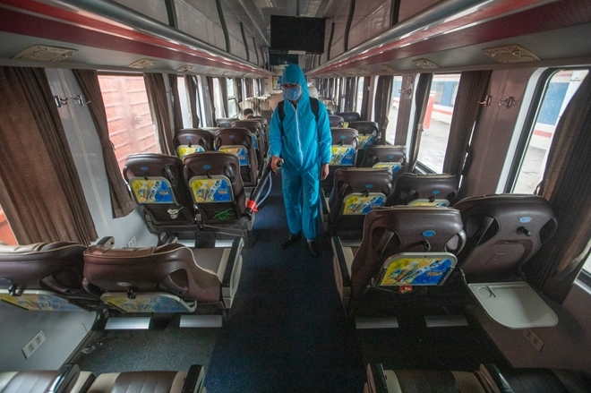 only one north south train remains in operation during covid 19 epidemic