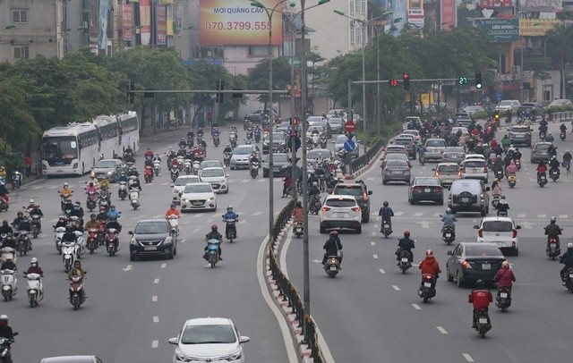 nice and better air quality in the first half of may in vietnam