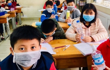 Vietnamese children concerned about learning pressure