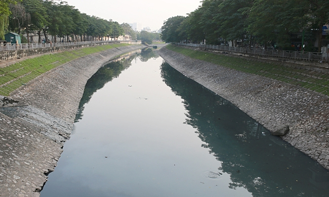 hanoi applies new technology to clean up to lich river