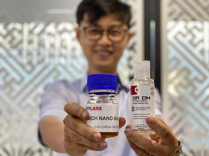 made in vietnam hand sanitizers exported to europe and the us