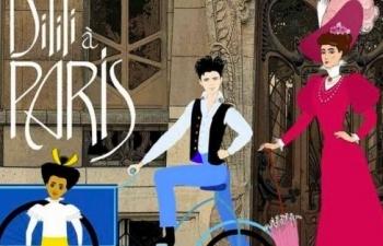 award winning european animation dilili in paris to be on screen in vietnam