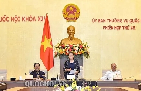 Vietnam National Assembly Standing Committee's 45th session (phase 2) to open on June 1