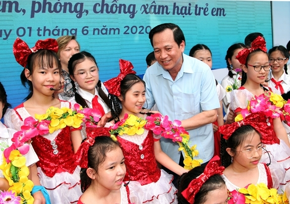 vietnam national action month for children launched