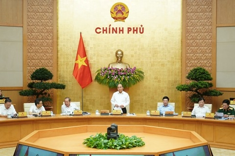 despite covid 19 vietnam government reaffirms determination to overcome challenges