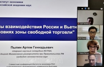 online conference highlights vietnam russia economic relations amid covid 19