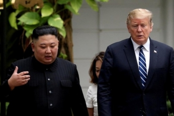 trump asks to fly kim back to north korea from hanoi bolton memoir