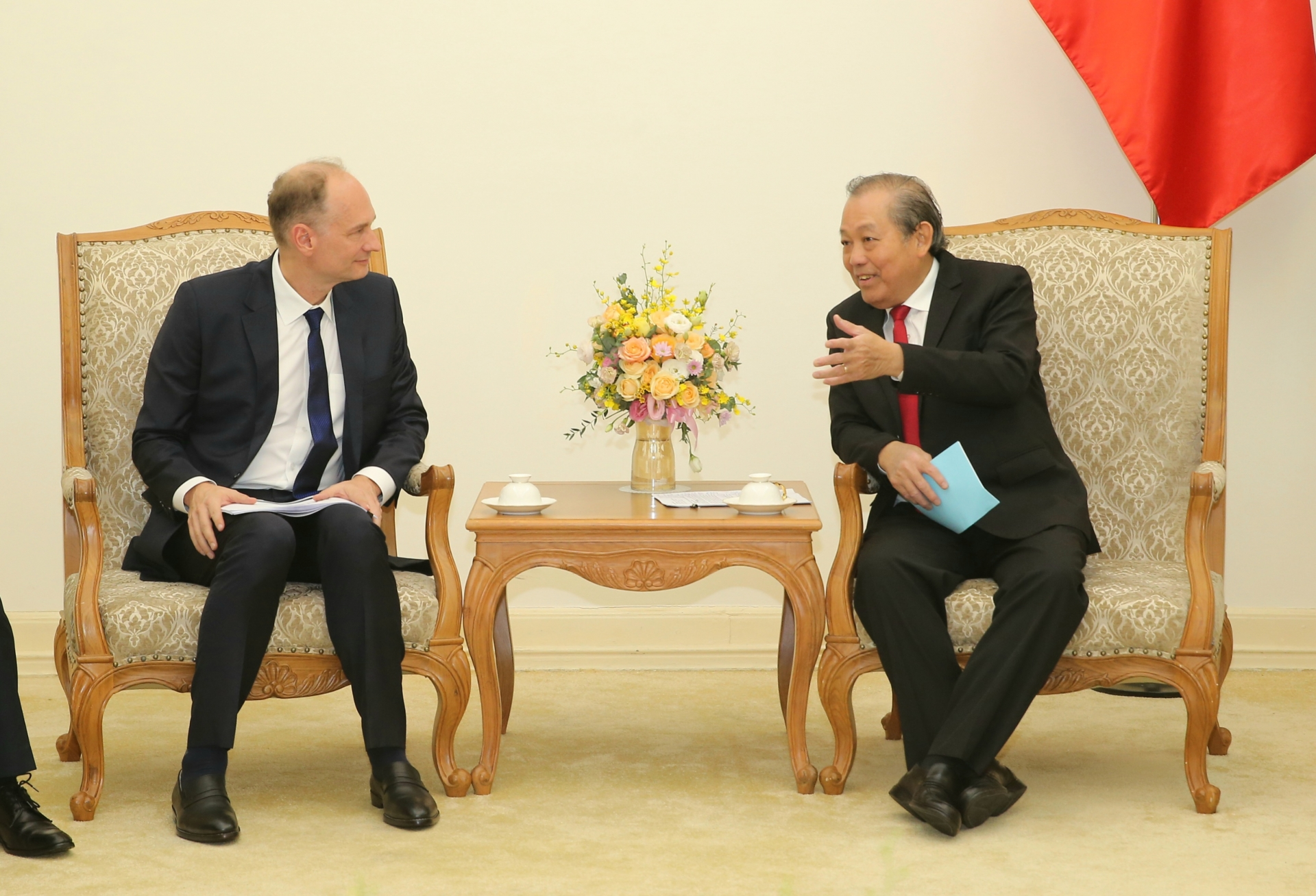 deputy pm vietnam to focus on supply chain development