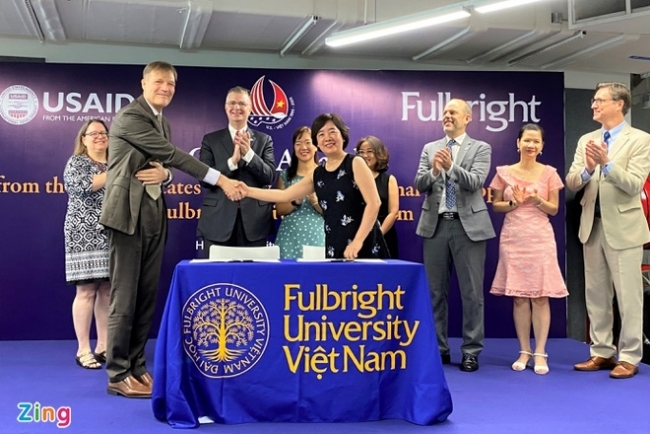 USAID grants nearly US$ 5 million to Fulbright University Vietnam