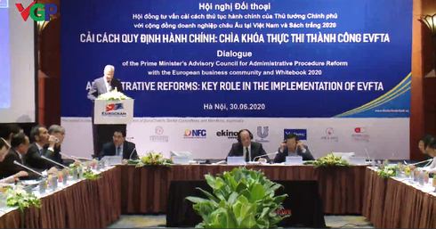 2732 vietnamese government dialogue european business community evfta