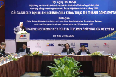 vietnamese government holds dialogue with european business community on evfta opportunities