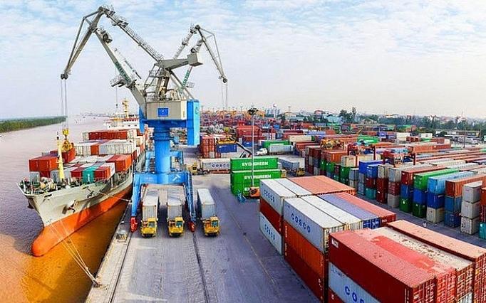 4544 trade surplus first six months
