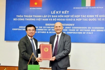 vietnam and italy established a new joint commission on economic cooperation