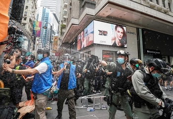 protest against security law in hong kong 370 people arrested