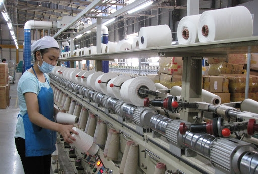 vietnams industrial production slightly rebounding